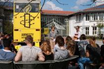 Stand an der Berufsschule Miesbach