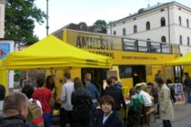 Amnesty International auf dem Streetlife im September 2017
